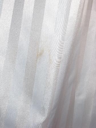 Staycity Aparthotels Christchurch: bathroom curtain