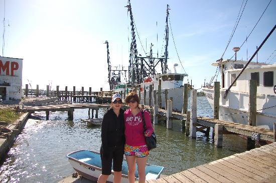 Ostego Bay Marine Science Center : Shrimp Boat Tour