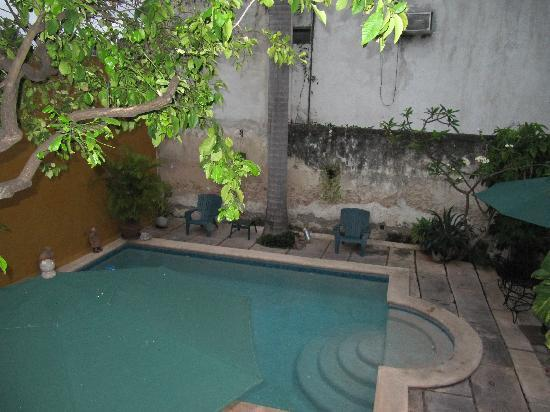 Luz En Yucatan: Pool & courtyard during the day