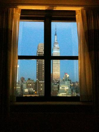 The New Yorker A Wyndham Hotel: View taken from bed!