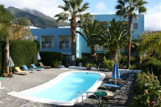 Los Llanos de Aridane, España: Apartamento jardin-piscina