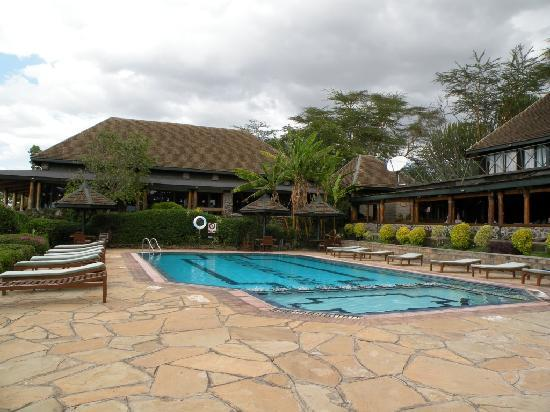 Biaprocade Day Tours & Safaris: Lake Nakuru Lodge swimming pool