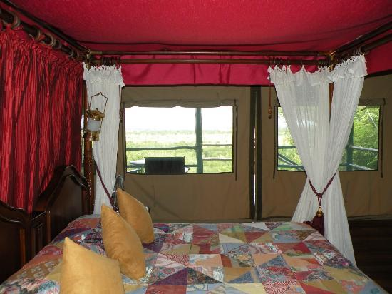 Biaprocade Day Tours & Safaris: Tent at Kirawira Tented Camp