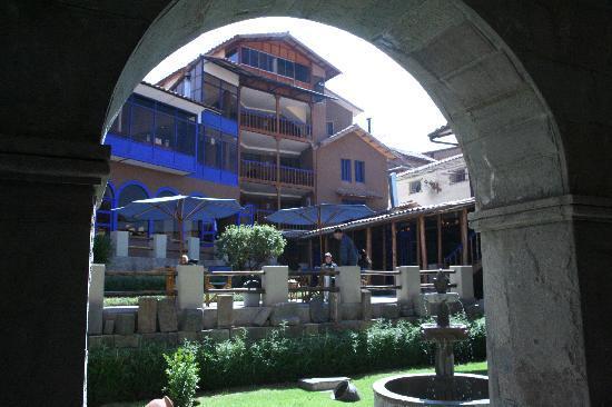 Casa Andina Classic Cusco San Blas: Patio interior del hotel