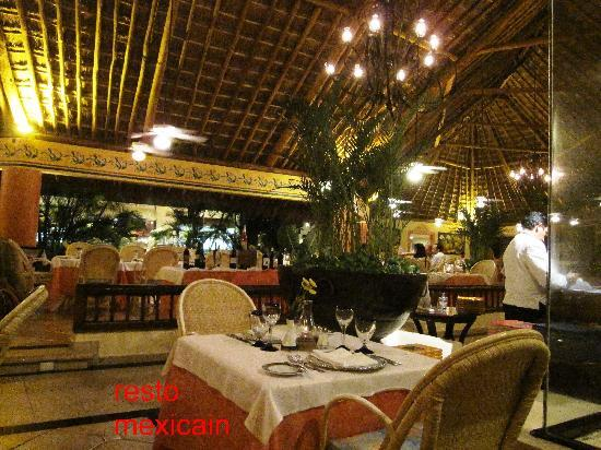 Grand Bahia Principe Coba: resto mexicain
