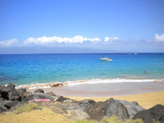 Maui Eldorado: The view from the cabana