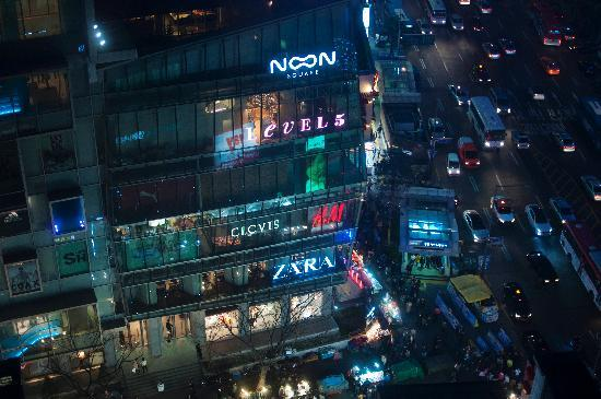 ibis Ambassador Seoul Myeongdong: View from 17th floor
