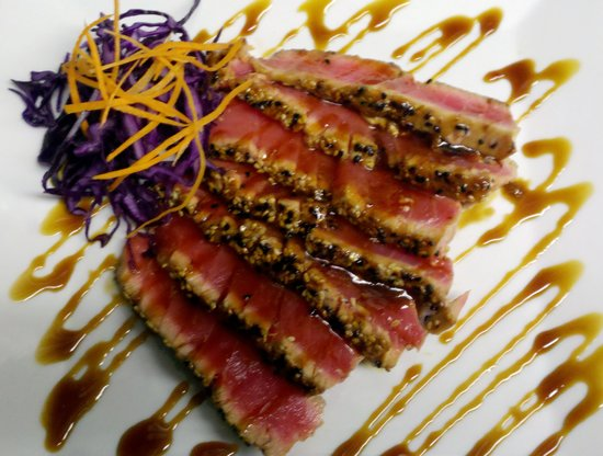 Jerry & The Mermaid: Searded Ahi Tuna