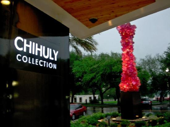 ‪‪St. Petersburg‬, فلوريدا: Front of Chihuly Collection‬