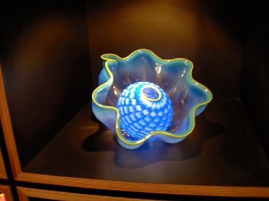 Chihuly Collection: One of the piece for sale in the gift shop