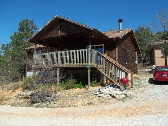 Bavarian Village Resort : outside of our cabin 134