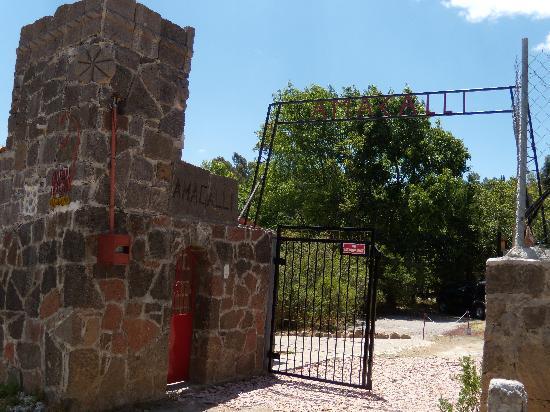 Villa Amacalli: Entrada de Amacalli