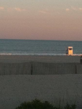 Ocean City Beach: view from boardwalk