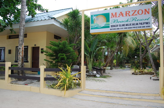 MarZon Beach Resort Boracay: Taken from the beach