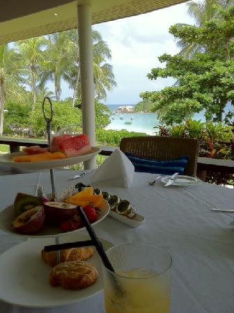 Lizard Island Resort: Breakfast