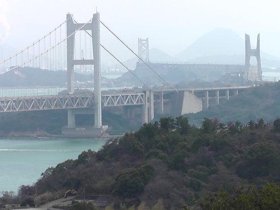 Kurashiki, Japan: 鷲羽山ハイランドからの瀬戸内海の眺望