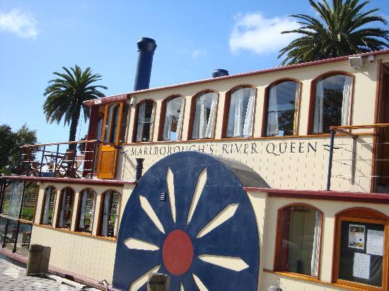 Marlborough's River Queen: The boat