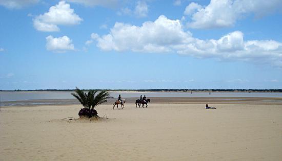Hotel Barrameda: Fabulous town beach
