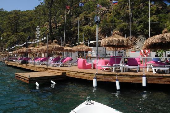Efe Hotel Gocek : Beach
