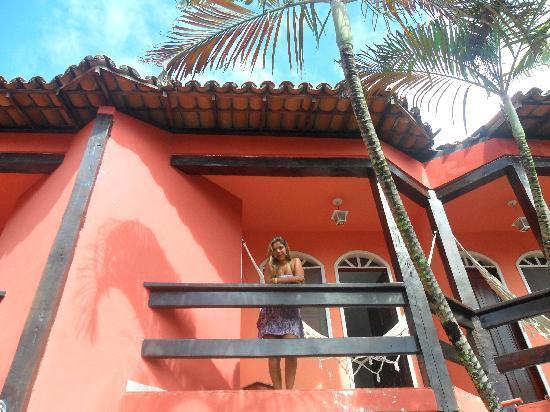 Pousada Ilha do Corsario: Na varanda do quarto