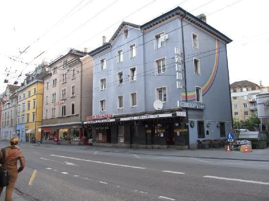 Hotel Gregory : Schöneggstrasse, Zurich