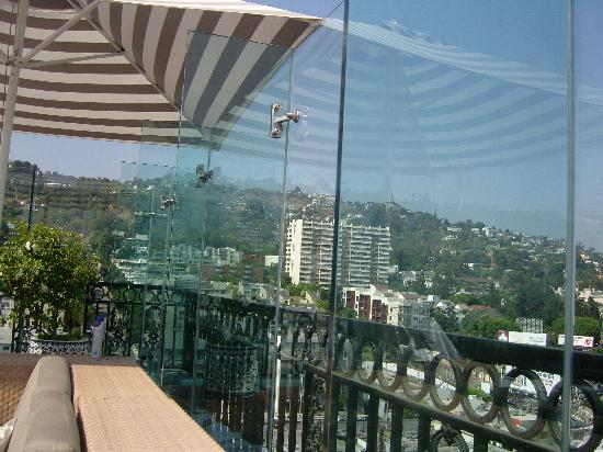 The London West Hollywood at Beverly Hills: View from the rooftop pool