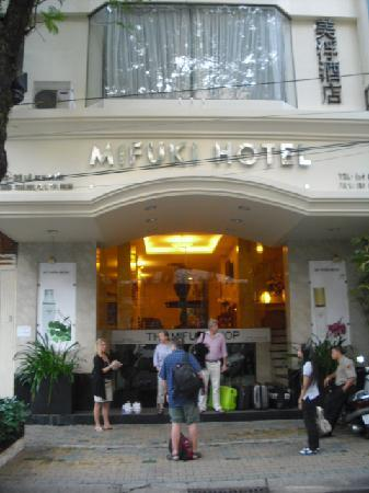 Mifuki Boutique Hotel: Front