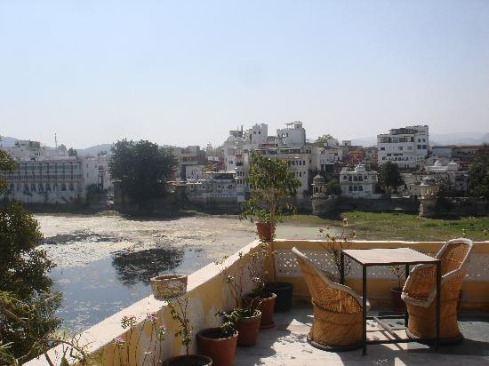 Hotel Nayee Haveli: la vue depui ma terrasse
