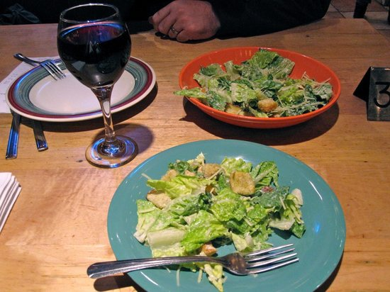 Beau Jo's Mountain Bistro: Meal at table