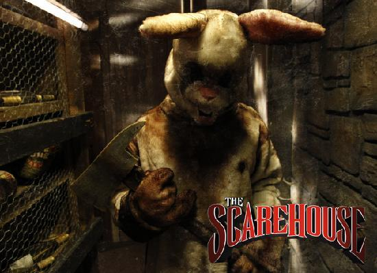 The ScareHouse: Some Bunny is waiting for you at