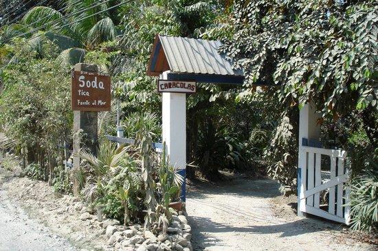 Las Caracolas : Main Entrance