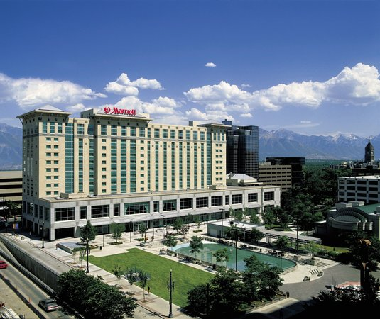 Salt Lake City Marriott City Center: Gallivan Plaza