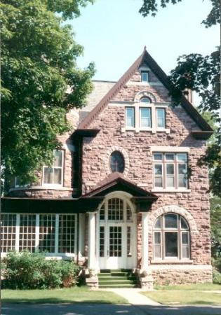 Cossit House on King St. E.