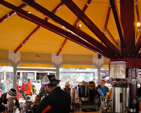 Steamboat Springs, CO: Beer tent at base