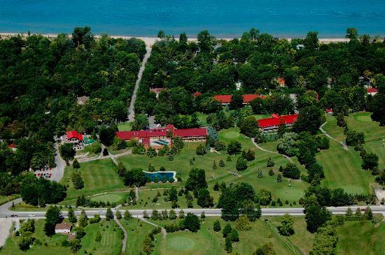 Grand Bend, Canada : Oakwood Resort and Lake Huron