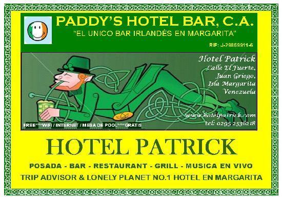 Hotel Patrick: Patrick Hotel & Bar