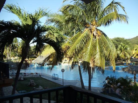 Club Amigo Carisol Los Corales: View off the balcony