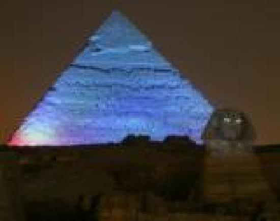 Pyramids View Inn: sound & light show