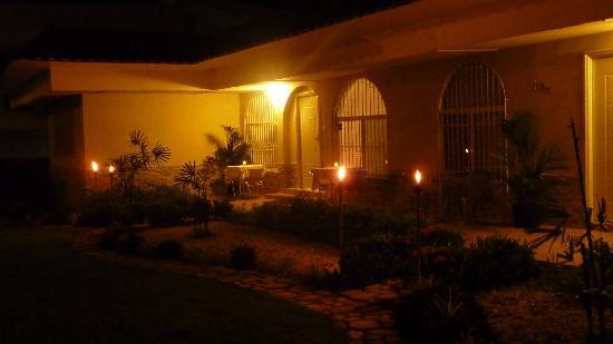Posada Casa Real: jardin