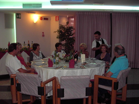 Hotel Santa Chiara: cena di gala