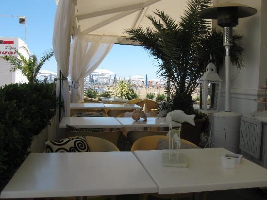 Hotel Milton Rimini, BW Premier Collection: La spiaggia dell'Hotel MIlton