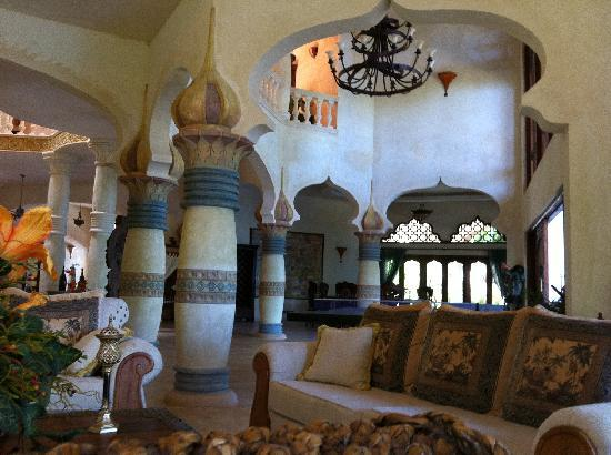 The Palace at Playa Grande: One of the living rooms