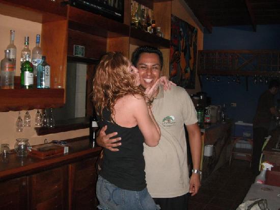DoceLunas Hotel, Restaurant & Spa: Andre, our bartender