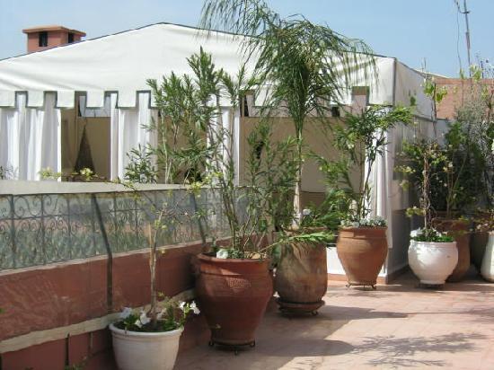 Riad Noor Charana: Roof Terrace
