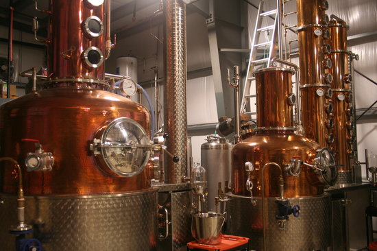 Pemberton Distillery : The Stills