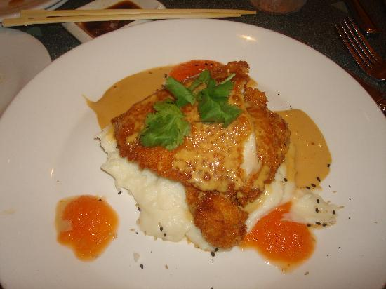 Wolfgang Puck Cafe: Chicken Entre...that wolfgang puck is famous for