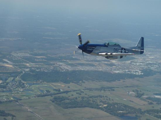 Kissimmee, FL: 7000 feet up , formation training