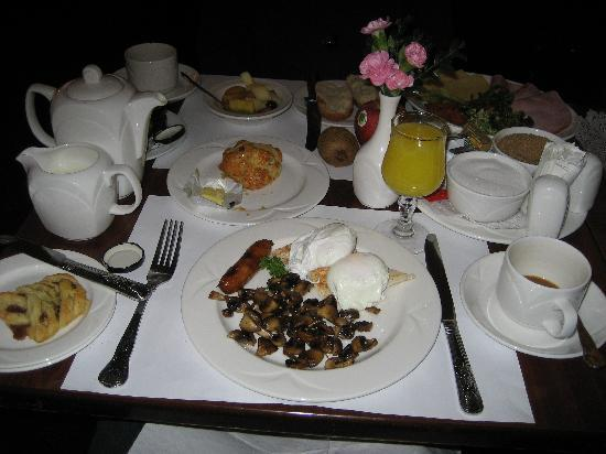 Park House Hotel: Breakfast Menu