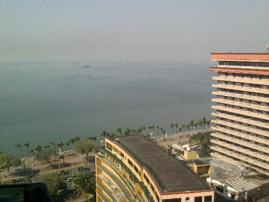 Baywatch Tower Manila: Is looking from the balcony towards Manila Bay