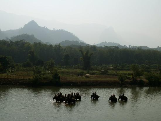 Elephant Village Sanctuary Day Trips : View from the Elephant Village